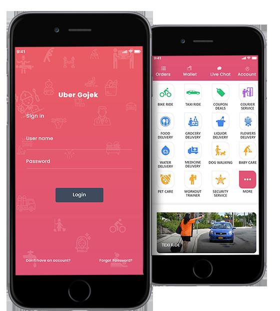 gojek clone | GoJek Clone Script | Gojek Clone App | UBGojek - https