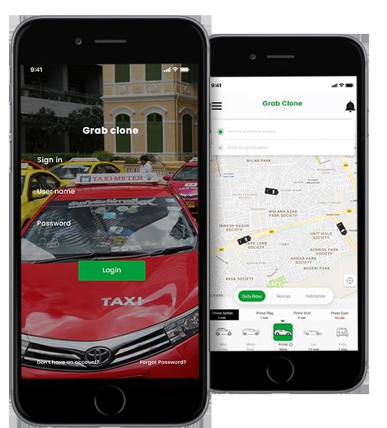 Grab Clone,Grab Taxi Clone App,Grab Clone App,Grab Taxi App