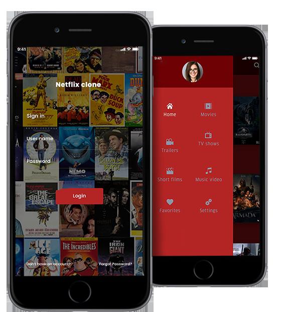 Netflix Clone,netflix clone script,Video Streaming App Clone