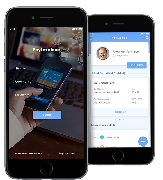 Paytm Clone, Paytm Mobile App Script, Paytm Php Script
